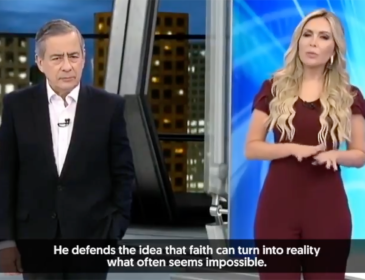 Brazilian TV shares Capitol Ministries Teaching Bible to Democrats and Republicans
